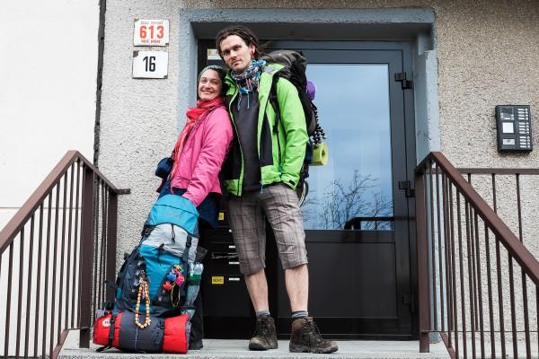Společná fotografie před začátkem výpravy.